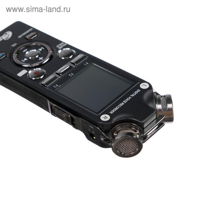 Диктофон Ritmix RR-989, 8 Гб, microSD, MP3/WAV, дисплей с подсветкой, чёрный - фото 4
