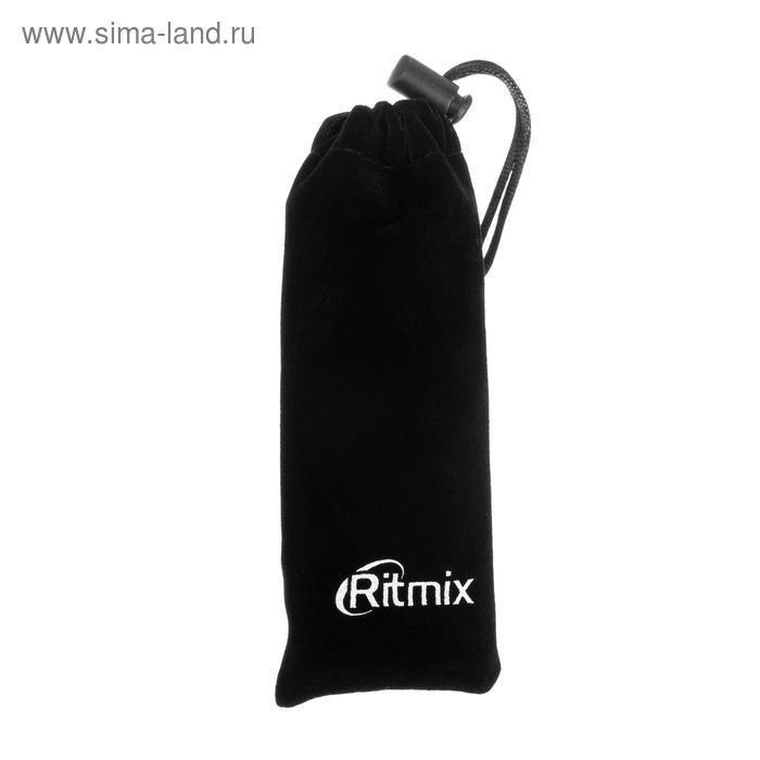 Диктофон Ritmix RR-989, 8 Гб, microSD, MP3/WAV, дисплей с подсветкой, чёрный - фото 5