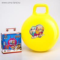 Мяч прыгун обычный с ручками Paw Patrol d=45 см, вес 350 гр, цвета МИКС