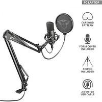 Студийный USB-микрофон Trust GXT 252 EMITA PLUS STREAMING MICROPHONE