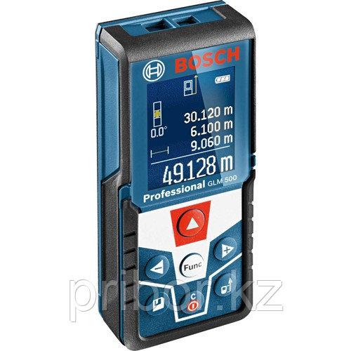 Профессиональный лазерный дальномер (50 м) и уклономер 360º Bosch GLM 500 Professional