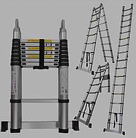 Двухсторонняя телескопическая лестница DX-220C
