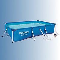 Каркасный бассейн Bestway 300 х 201 х 66 см