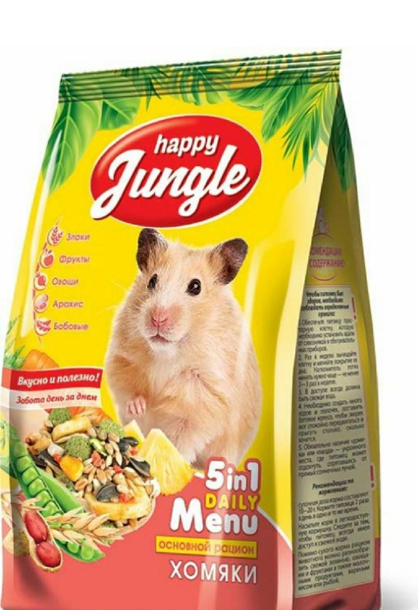 Корм для хомяков Happy Jungle