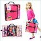 Игровой набор Barbie Fashionistas Шкаф-чемодан для одежды