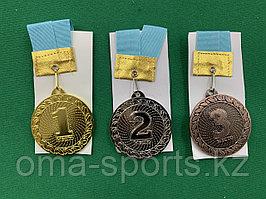Медали 1,2,3 место