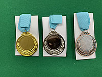 Медали 1,2,3 пустышка, фото 1