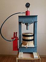 Пресс для отжима масла на 1,5 литра с гидроцилиндром на 30тонн. Холодный отжим