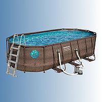 Каркасный бассейн Bestway Swim Vista 549 х 274 x 122 см