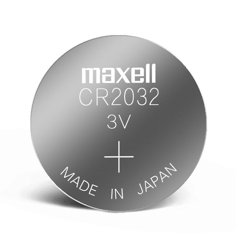 Батарейка Maxell CR2032 3V литиевый элемент питания(Made in Japan)