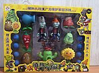 Набор фигурок растения против зомби Plants vs zombies (2 зомби , 7 растений, 8 боеприпасов)