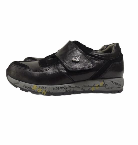 Туфли кожаные унисекс 32/33/35 - фото 2