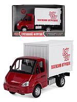 Машина инерционный грузовой фургон Play Smart Газель. Газ.