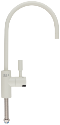 Кран рычажковый atoll A-8883-IY LED (слон.кость)