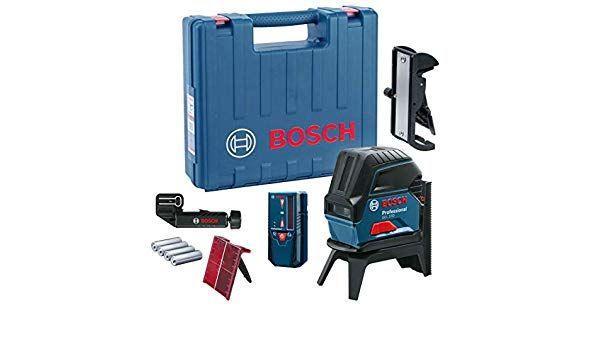 Лазерный нивелир BOSCH GCL 2-50 Professional + LR6 + RM1 + BM3 (0601066F01)