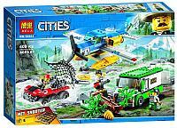 Конструктор BELA Cities Ограбление у горной речки 10864 (Аналог LEGO City 60175)409 дет