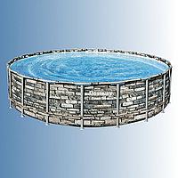 Каркасный бассейн Bestway Power Steel 671 x 132 см