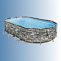Каркасный бассейн Bestway Power Steel 610 х 366 х 122 см