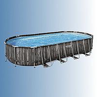 Каркасный бассейн Bestway Power Steel 732 х 366 х 122 см