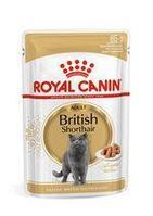 Royal Canin British Shorthair Adult в соусе, влажный корм для кошек породы британская короткошерстная