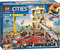 Конструктор LEGO CITY Центральная пожарная станция, 985 деталей (Lari 11216)