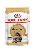 Royal Canin Maine Coon Adult паучи в соусе, влажный корм для кошек породы мейн-кун старше 15 месяцев