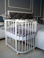 Приставная кроватка Leeloo, белая (Incanto, Россия)