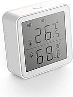 Датчик температуры и влажности Tuya Wi-Fi Smart, Гигрометр-Термометр, поддержка Google Assistant