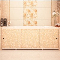 Экран для ванны МЕТАКАМ Премиум-А 1,7 м. Кремовый