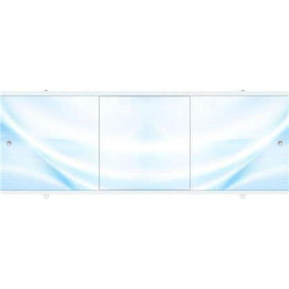 Экран для ванны МЕТАКАМ Премиум-А 1,5 м. Голубой