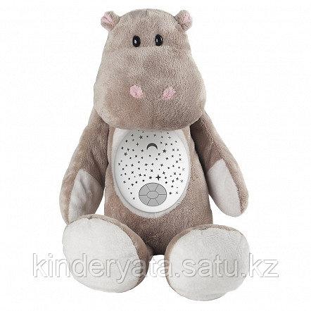 PITUSO Мягкая игрушка-проектор БЕГЕМОТИК (свет,звук) 29*24*13 см (в кор.12 шт)
