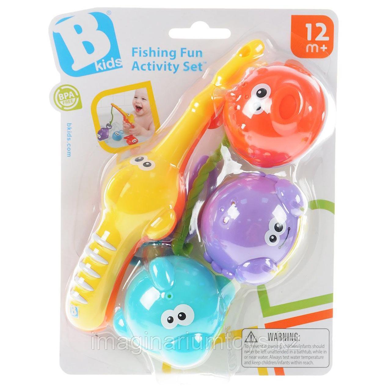 Детская игрушка для ванной «Рыбалка» B Kids