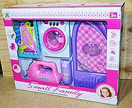 LS8204HS Бытовая техника Small Family 5 в 1 стиральная машина и утюг с аксессуарами 39*32, фото 2