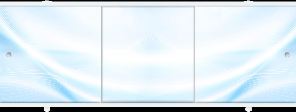 Экран для ванны МЕТАКАМ Премиум-А 1,7 м. Голубой