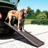 Trixie Пластиковая лестница для транспортировки собак.(ДхШхВ) см 156 х 40 х 8