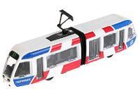Трамвай металлический с гармошкой 19см SB-17-51-WB(NO IC) 4433289