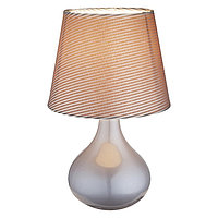 Настольная лампа FREEDOM 1x40Вт E14 серый 17x17x27см