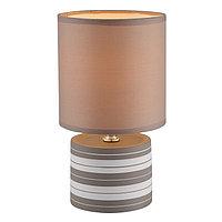 Настольная лампа LAURIE 1x40Вт E14 бежевый 14x14x26см
