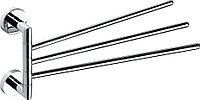 Полотенцедержатель тройной поворотный Bemeta Omega 104204112