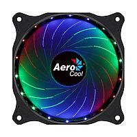 Кулер для компьютерного корпуса AeroCool Cosmo 12 FRGB Чёрный