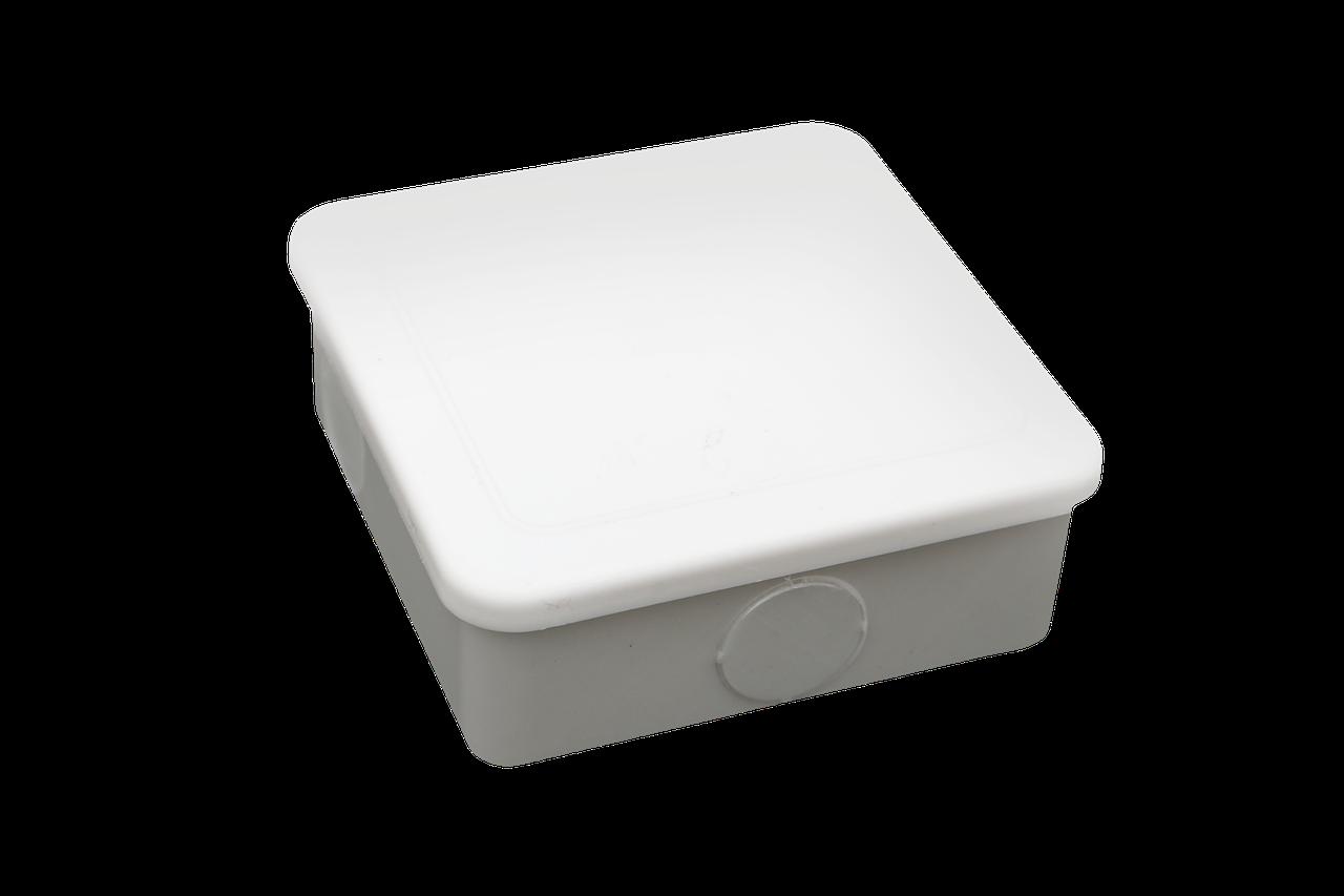 """Распределительная коробка квадратная без ввод """"NDplast"""""""