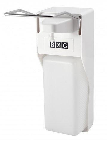 Дозатор антисептических средств с локтевым нажатием BXG-ESD-2000, фото 2