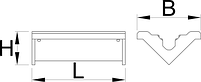 Сменные резиновые губки для арт. 1693.1, набор из 2 шт. - 1693.11 UNIOR, фото 2