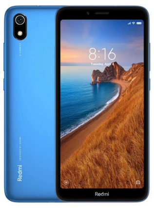 Смартфон Xiaomi Redmi 7A 32Gb Matte Blue, фото 2