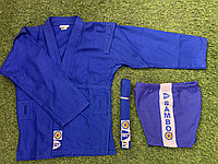 Кимано самбо GREEN HILL синий SSJ-10369