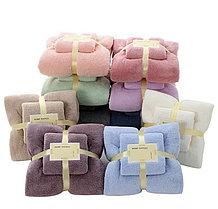 Набор полотенец, лицевое + банное