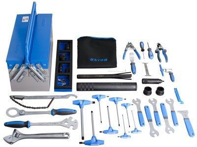 Набор инструментов для велосипеда в ящике инструментальном (39 предметов) - 1600E1N UNIOR