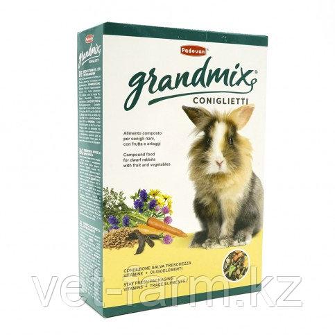 GRANDMIX CONIGLIETTI Комплексный Корм Для Декоративных Кроликов