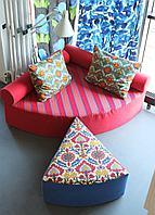 Угловой диван, Комбинированный