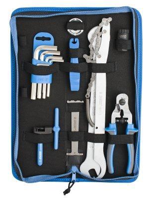 Набор инструментов для велосипеда (17 предметов) в сумке - 1600A6 UNIOR